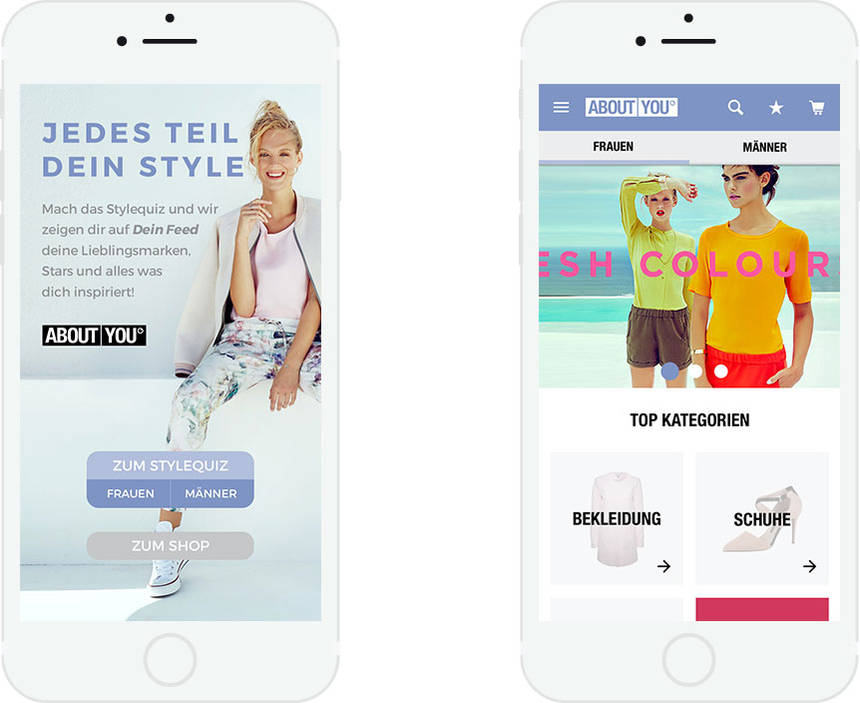 Shop-App About You